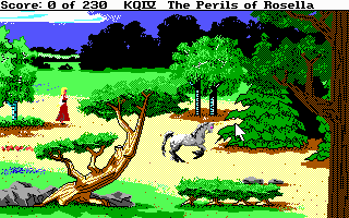 King's Quest 4, dithering이 엄청 들어갔습니다.